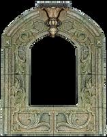 Vintage Fresco Carved Shrine Frame by EveyD