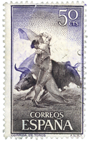 Vintage Stamp from Spain aka Espana - 1 by EveyD