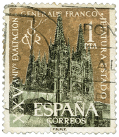 Vintage Stamp from Spain aka Espana - 3 by EveyD