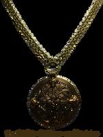 Vintage Viking Shield Necklace by EveyD