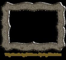 Funky Embossed Metal Frame 6 by EKDuncan by EveyD