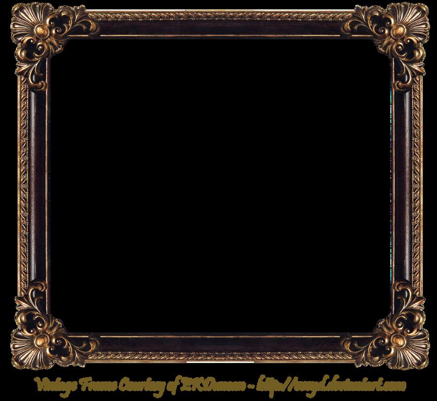 Elaborate Wood Frame by EKDuncan by EveyD