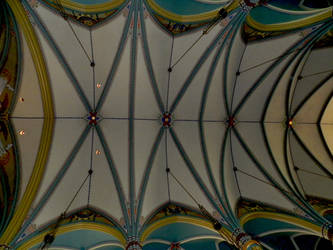 Gothic Painted Cathedral Ceiling photo by EKDuncan by EveyD