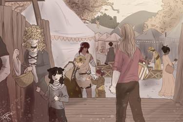 Illustration background #1 by WildfireIllustration