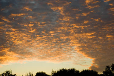 Morning sky from my balcony - 002 by steppelandstock