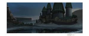 Floating Castle by calebcleveland
