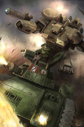 WH40K: FIRE AND HONOUR 4 by calebcleveland