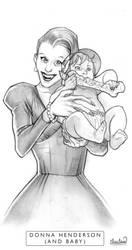 Donna Henderson, Vampire Mom by calebcleveland