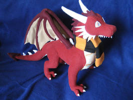 Thornacious Plush by DragonCid
