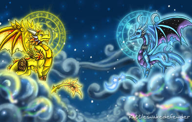 The Celestial Guardians by DragonCid