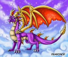 Full Grown Spyro Ref by DragonCid
