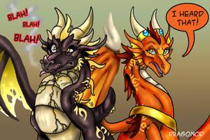 Blahblahblah by DragonCid