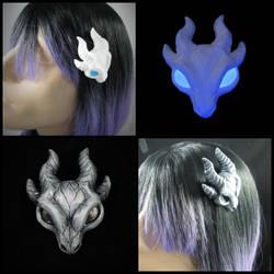 Dragon Skulls by DragonCid