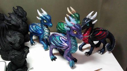Princess Dragons WIP 4 by DragonCid