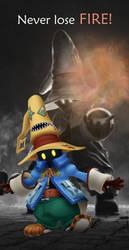 Final Fantasy 9's Vivi Never Lose Fire  by daramon