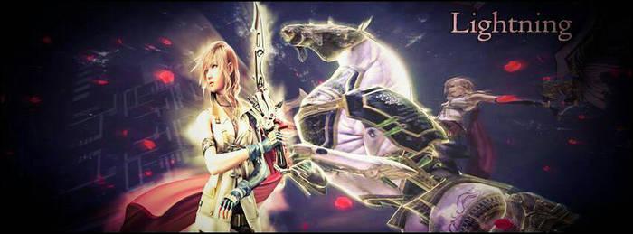 Lightning - Facebook cover v2 by daramon