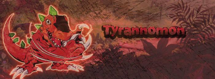 Tyrannomon FB Cover by daramon