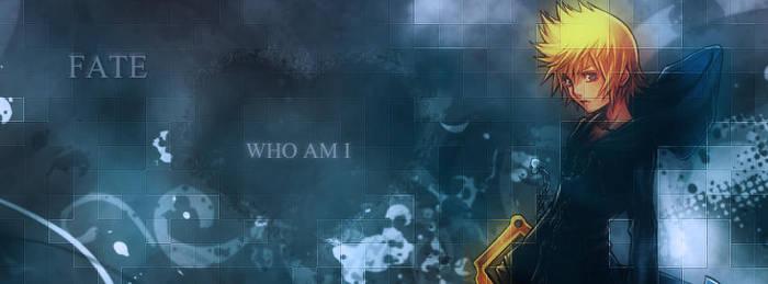 Kingdom Hearts Facebook Cover - Roxas V1 by daramon