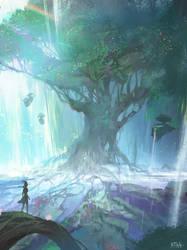 RO - Yggdrasil Tree by Darkhikarii