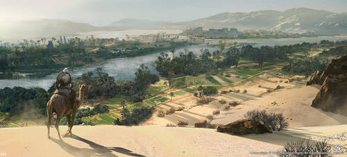 Assassin's Creed: Origins by Darkhikarii