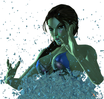 Water effect for Xna by ZayrCroft
