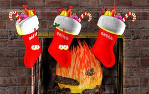 Christmas Sock DL by ZayrCroft