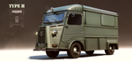 Type H Van by aconnoll