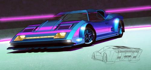 Disco Racer by aconnoll