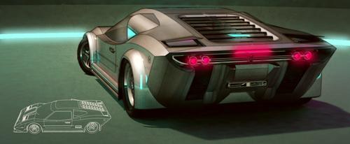 Disco Racer - rear shot by aconnoll