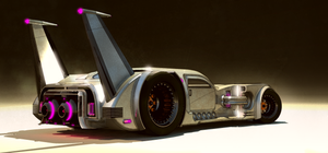 Jet car by aconnoll