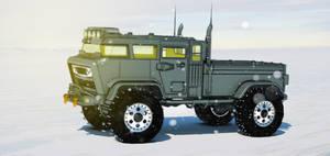 Tuff Truck Bravo (snow shot) by aconnoll