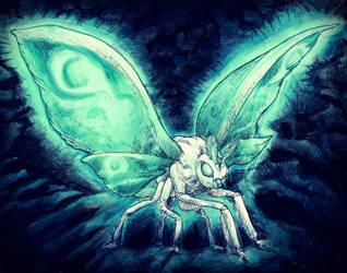 Mothra - Godzilla: King of the Monsters by DinoDilopho