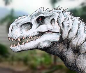 Indominus Rex by DinoDilopho