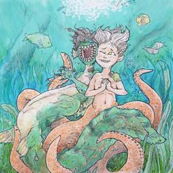 Mermaids by DinoDilopho