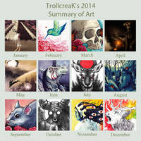 2014 Art Summary by ShanaPatry