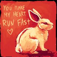 You make my heart run fast by ShanaPatry