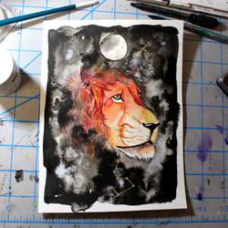 Day 41: Leo full moon by ShanaPatry