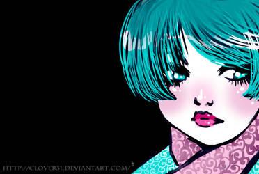 Neon Blu by Clover31