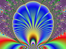 Psychedelic Sea Shell by pepperdeath