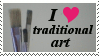 I Heart Traditional Art by jinxedbyemily