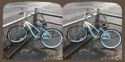Blue Bike by Phostructor