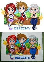 Destiny Island Cross-Stitch by Cpresti