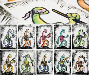 Mini Yough Stamp Prints by Cpresti