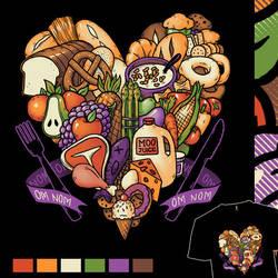 I Love the Food Pyramid by Cpresti
