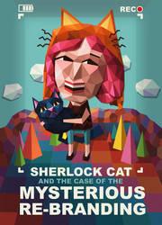 Sherlock Cat Papercraft by Cpresti