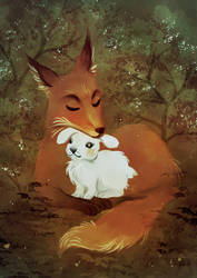 Forest Friendship by mrokat