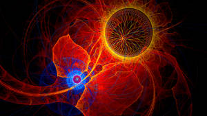 The Birth Of A Sun II by Fractamonium