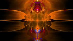Study Of A Negative Singularity by Fractamonium