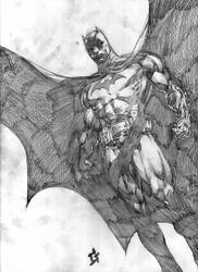 Batman by Goldmanpenciler