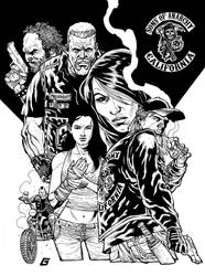 Sons of Anarchy Goldman Style by Goldmanpenciler